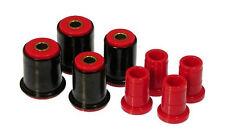Prothane 7-204 Front Control Arm Bushing Kit w/ Shells 4WD S-10 / Blazer (Red)