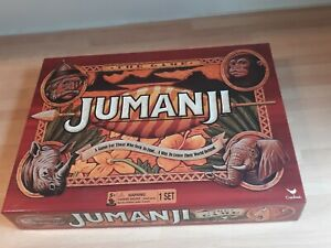 JUMANJI THE BOARD GAME COMPLETE LOVELY CONDITION CARDINAL 2017 BASED ON THE FILM