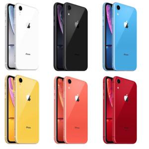 Apple iPhone XR UNLOCKED Sim Free Smartphone - 64GB 128GB 256GB - VERY GOOD