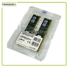 405477-061 F/S New HP 8Gb (2 x 4gb) PC2-5300P ECC Register Memory Kit 408854-B21