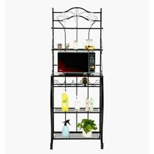 Metal Baker's Rack Organizer Stand Shelf Kitchen Microwave Cart Storage Stand