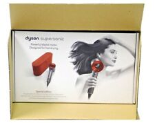 Dyson Supersonic Super sonic Hair Dryer Red Case - Special Edition Red with Case
