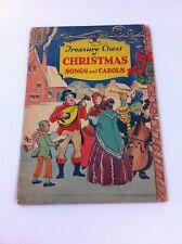 Vintage 1936 Treasure Chest of Christmas Songs & Carols Pamphlet Book Magazine