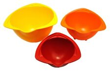 Set x 3 Children's Kids Baking Mixing Bowls. Fab for Little Helping Hands. S7361