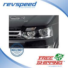 CSR Headlight Lids Trim Eyebrows For Volkswagen VW Bus T5 2010-2014 ABS #SB049