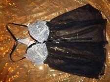 Ann Summers Babydoll Size 12 Black