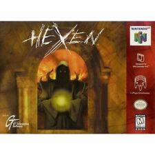 HEXEN   (KOMPLETT!)   NTSC-U/C US USA Version Nintendo 64  N64   1-4 Player