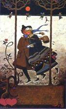 """Charles Wysocki Lovers Waltz poster image size :  9.5"""" x 16"""""""