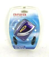 Aiwa Walkman HS-PS14 Stereo Cassette Player Headphones Super Bass 18 Hour Play