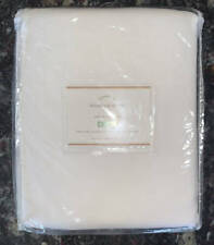 New~Set of 2~Pottery Barn~Broadway Curtains Drapes Panels~White~50x84