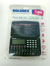 Rolodex Electronics Franklin Rf4112 Organizer Phone Number Address Vintage Model