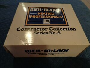 1999 ERTL WEIL-McCLAIN CONTRACTOR COLLECTION SERIES NO.8 NEW IN BOX