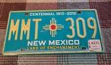 NEW MEXICO  license plate more than 3 years old decor man cave bar BIN#C8