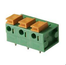 Printklemme Federklemmleiste 3-polig, RM7,62 DECA Typ MX222-762 Klemmleiste 1.St