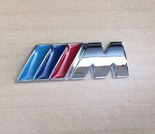 ///M Sports Small Emblem M Power Side Wing Badge Metal Chrome BMW Quality