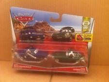 Disney Cars Diecast-Brent Mustangburger & David Hobbscapp Con Auricular