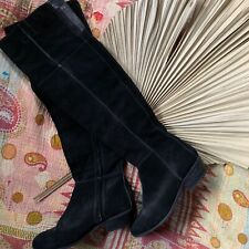 Sportsgirl Ladies Above The Knee Black Leather Boots Size 40