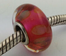 Authentic Chamilia Pink Lemonade No Logo (A) Retired Bead Charm Ob-151 New