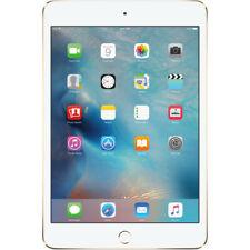 iPad mini 4 Cellular 16GB, 4G LTE, 802.11ac, Bluetooth 4.2, Unlocked, Gold