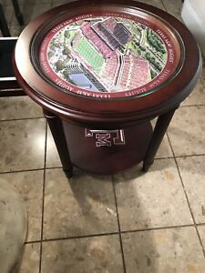 Texas A & M Coffee Table Great Man Cave Decor.
