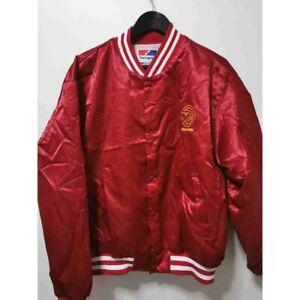 Vintage Atlanta Hawks trae young satin Jacket Mens Sz XL Swingster basketball