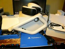 Sony PlayStation VR VirtualReality Headset Core Bundle PSVR CUH-ZVR1 w/ AIM CONT
