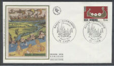 FRANCE FDC - 1993 1 BASSE NORMANDIE - 1 Avril 1978 - LUXE sur soie