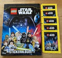Lego Star Wars Sticker - Sammelalbum + 5 Tüten - Neu & OVP