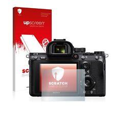 Upscreen Scratch protection D'écran pour Sony Alpha 7 III Film Protecteur