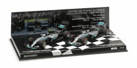 Mercedes W07 Costructor World Champion 2016 Rosberg Hamilton Set 1:43 Model