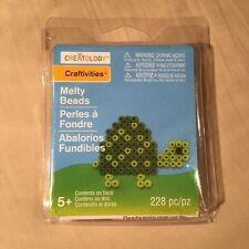 CREATOLOGY Craftivities - Melty Beads Turtle Craft Kit - 228 pieces, Ages 5+ NEW