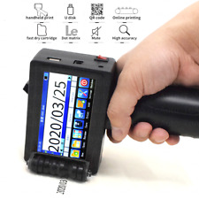 Industrial Handheld Inkjet Printer For Date QR Logo Barcode Printing 2-12.7mm