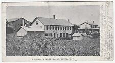 RARE Oversized Advertising Postcard - Woodworth Knife Works Nunda NY ca 1905