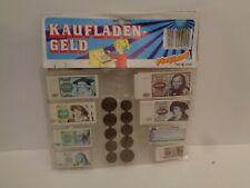 Kaufladen Geld Set von Playland Deutsche Mark 70er Jahre
