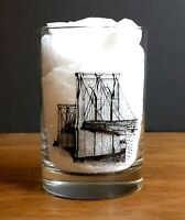 Nathans Brooklyn Bridge 70th Anniversary 1986 Collectors Series Glass C219