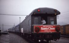 CSX Santa Claus Special Christmas Railroad Train Original 1989 Photo Slide