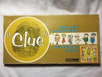 """Vintage 1963 """"CLUE"""" Detective Board Game from Parker Brothers - Complete Set"""