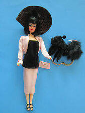 Ooak Barbie by Jonell Belke - Repro Long-Haired American Girl - Black Hair -Mint