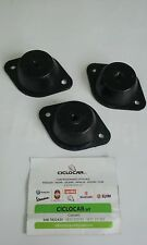 SET 3 PZ SUPPORTO MOTORE SILENT BLOCK MICROCAR VIRGO MC L.mm100-H mm30- f.8 CM 3