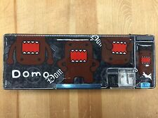 Domo Kun Magnetic Pen & Pencil Case Box Pouch-Black