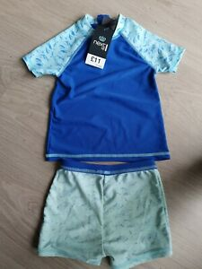 Boys next sun swim suit 2 piece 1.5/2 years