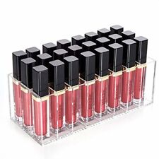 Liquid Lipstick Organizer, 24 Spaces Clear Acrylic Makeup Lipgloss Display Case