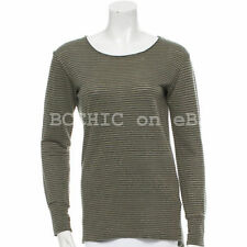 Linen Striped T-Shirts for Women