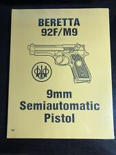 Beretta 92F/M9 9MM Semiautomatic Pistol
