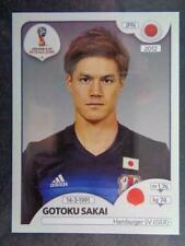 Panini FIFA 2018 World Cup Russia PINK back sticker #648 Gotoku Sakai Japan