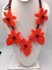$284 Kate Spade Lovely Lilies Statement Necklace KSJ1