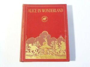 1933 Alice's Adventures in Wonderland by Lewis Carroll Centenary Gwynedd Hudson