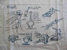 UNIQLO x PIXAR Finding Nemo Nigel sketch t-shirt sz XL disney dory tee toy story