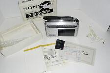SONY solid state FM/AM Radio TFM-6100W 1971