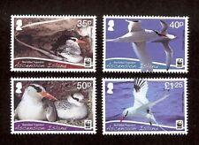 ASCENSION 2011 WWF RED-BILLED TROPIC BIRD (4v) MNH V.FINE